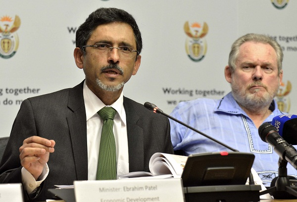 Economic Development Minister Ebrahim Patel (left) and Trade and Industry Minister Rob Davies.  Picture: TREVOR SAMSON