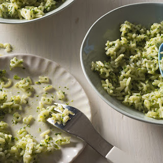 Alphabet Pastina with Broccoli Rabe Butter.