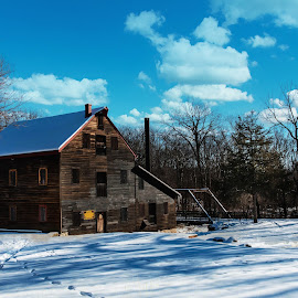 Wildcat Den by Darrin Ralph - Buildings & Architecture Other Exteriors ( old, snow, old building, rustic )