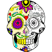 Tattoo Color by Number : Adult Coloring Book Pages