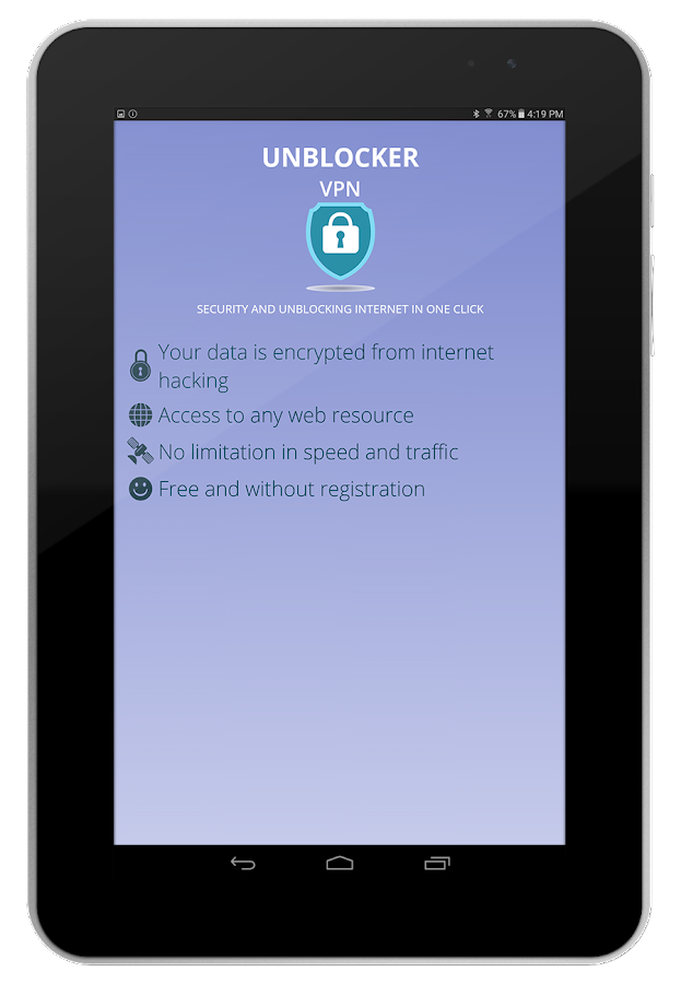 Vpn Free Unblocker unlimited- screenshot