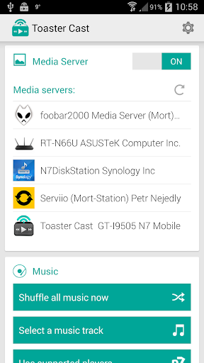 Toaster Cast DLNA UPnP Player - Apps on Google Play
