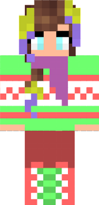 ik i made this after christmas well who cares!! MERRY XMAS KATJA04 AND ALSO EMILY ITS WHO I MADE DE SKIN FOR RAWR xD idk any more pls like :D by your friend creepycreepergaming