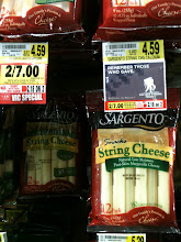 Photo: String cheese on sale + my coupon! Yes!