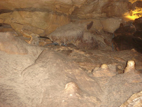 Photo: inside the cave