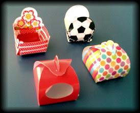 Photo: Embalagens temáticas decorativas - Individual para doces de festa ou bombons.