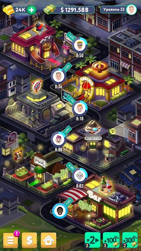 Code Triche Tap Tap Capitalist - City Idle Clicker APK MOD screenshots 2
