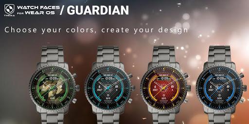 Guardian Watch Face & Clock Widget screenshot