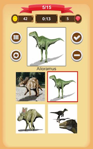 Dinosaurs Quiz apkmind screenshots 16