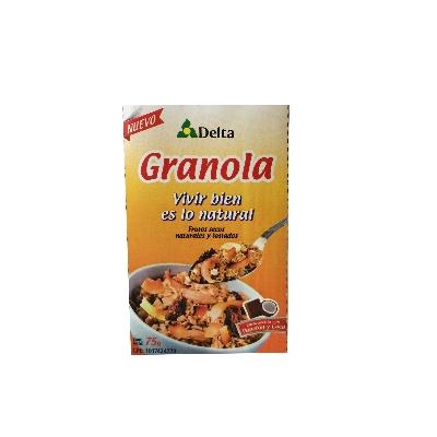 granola de papelon y coco delta  75g