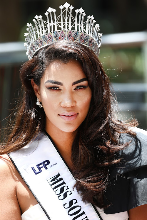 Sasha-Lee Olivier was the second Miss SA to sport the uBuhle crown.