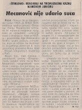 Photo: Glas Istre 22.11.2003 mj reakcija na kaznu NSZI - Meca - tri mjeseca!?