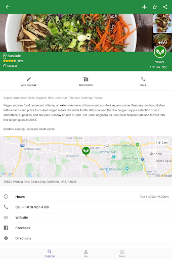 Find Vegan Restaurants & Vegetarian Food- HappyCow 62.0.26-free-v2 screenshots 10