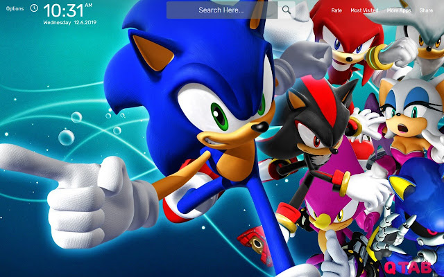 Sonic The Hedgehog Wallpapers Theme