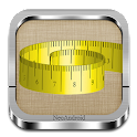 Tape measure (cm, inch) icon