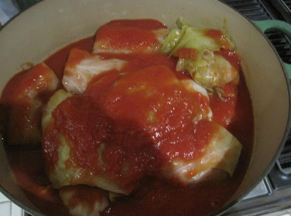 Stuffed Cabbage W/italian Sausage Stuffing Recipe