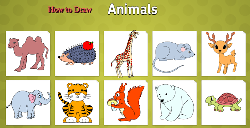 玩免費漫畫APP|下載How to draw animals on phone app不用錢|硬是要APP