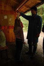 Photo: Pasování členů posádky na jim náležící hodnosti - žínka, ručník, osuška - naším Velkým Županem Plackou