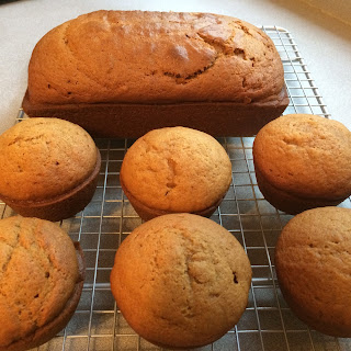 Pumpkin Bread/Muffins.