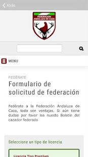 Federación Andaluza de Caza - náhled