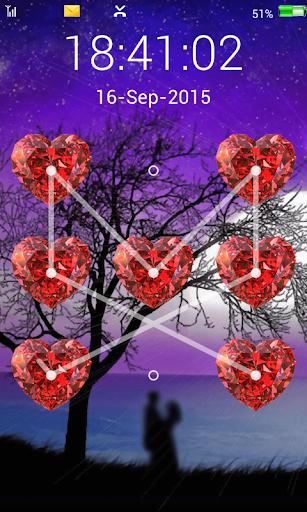 love screen lock pattern code