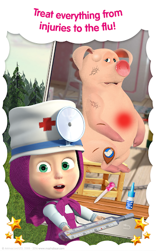 Masha and the Bear: Vet Clinic 3.21 screenshots 10