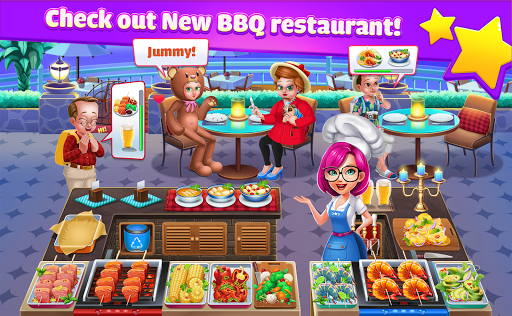 Cooking Idol - A Chef Restaurant Cooking Game  captures d'u00e9cran 1