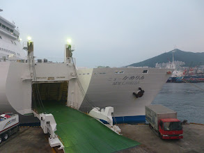 Photo: Overnight ferry to Fukuoka, Japan