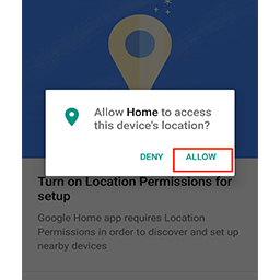 how to turn off google home device
