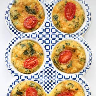 Chorizo + Spaghetti Squash Breakfast Egg Cups.