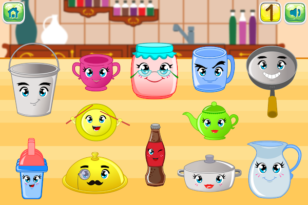 Toddler Musical Kitchen - screenshot