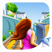 Subway Princess Tricky Surf Rush 3D