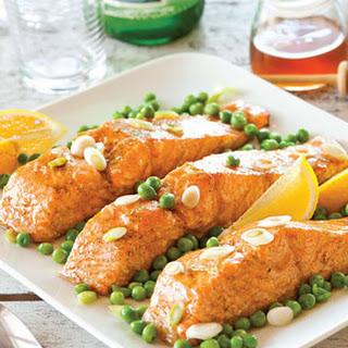 Grilled Salmon with Honey-Cardamom Glaze Recipe