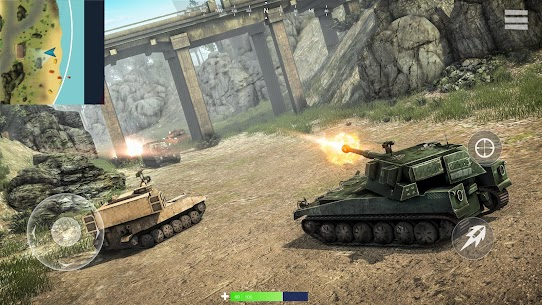 War of Tanks: PvP Blitz 3