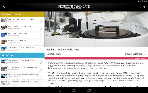玩新聞App|Project-Syndicate Polska免費|APP試玩
