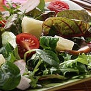 Salade Met Gerookte Kip En Ananas