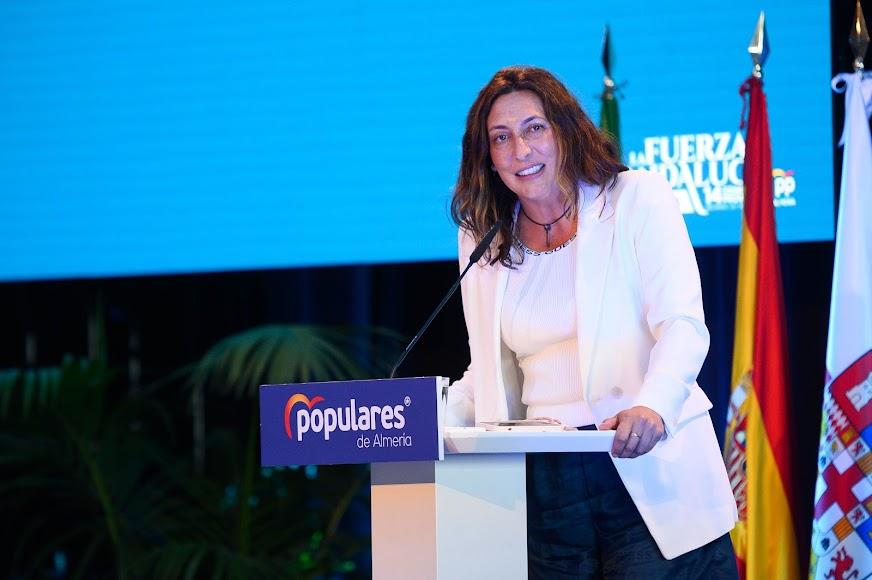 Loles López, secretaria general del Partido Popular en Andalucía.