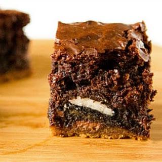 Chocolate Chip Cookie & Oreo Fudge Brownie Bar.