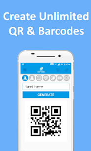 QR and Barcode Scanner PRO Screenshot
