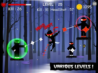 Ninja: Samurai Shadow Fight Screenshot