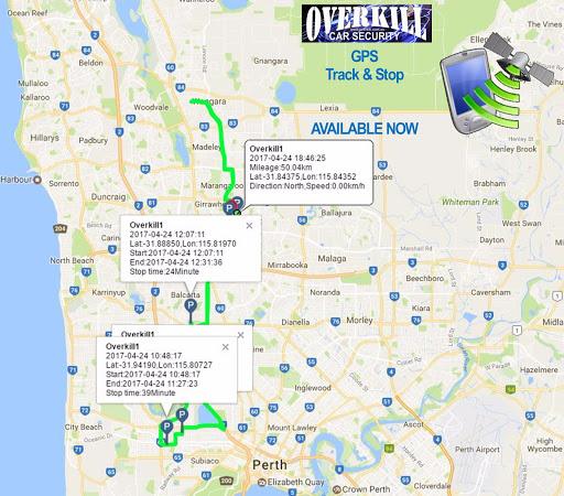 GPS Tracker Perth