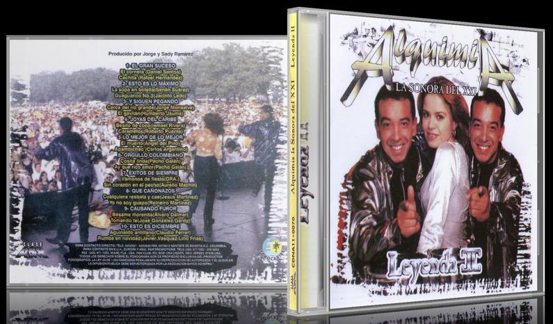 Alquimia La Sonora Del XXI - Leyenda II (1997) [MP3 @320 Kbps]