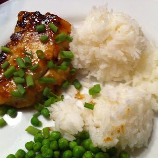 Misoyaki Cod with Jasmine Rice.