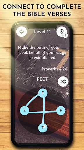 Bible Word Puzzle Games : Connect & Collect Verses apkmr screenshots 1