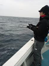 "Photo: 初乗船、""ヤマサキさん""も!"