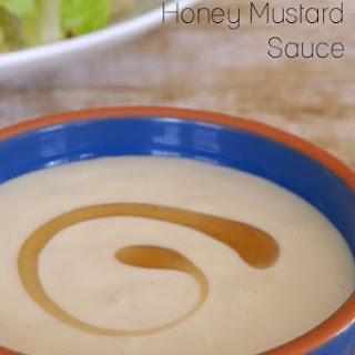 Low Carb Honey Mustard Sauce.
