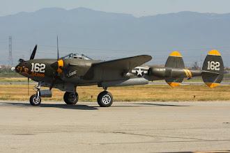 Photo: Lockheed P-38J Lightning
