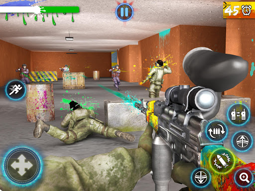 Paintball Arena Shooting: Shooter Survivor Battle apkpoly screenshots 9