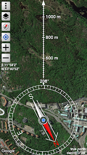 Orienteering Compass & Map Screenshot