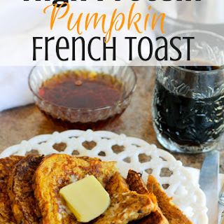 Pumpkin Protein French Toast